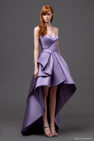 Alberta-Ferretti-Lavender-High-low-Wedding-Dress-2015